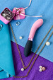 Универсальный массажер Eromantica Monica, силикон, розовый, 21 см 230201