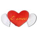 Подушка окрыленна любовь
