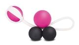 Инновационные вагинальные шарики на магнитах Geisha Balls Magnetiс - FT London  Розовый FT10271